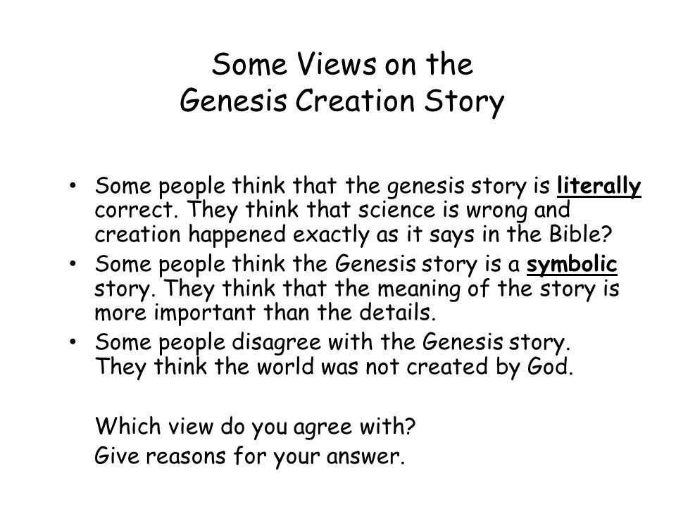 A flaw in God's Creation & the Bible?