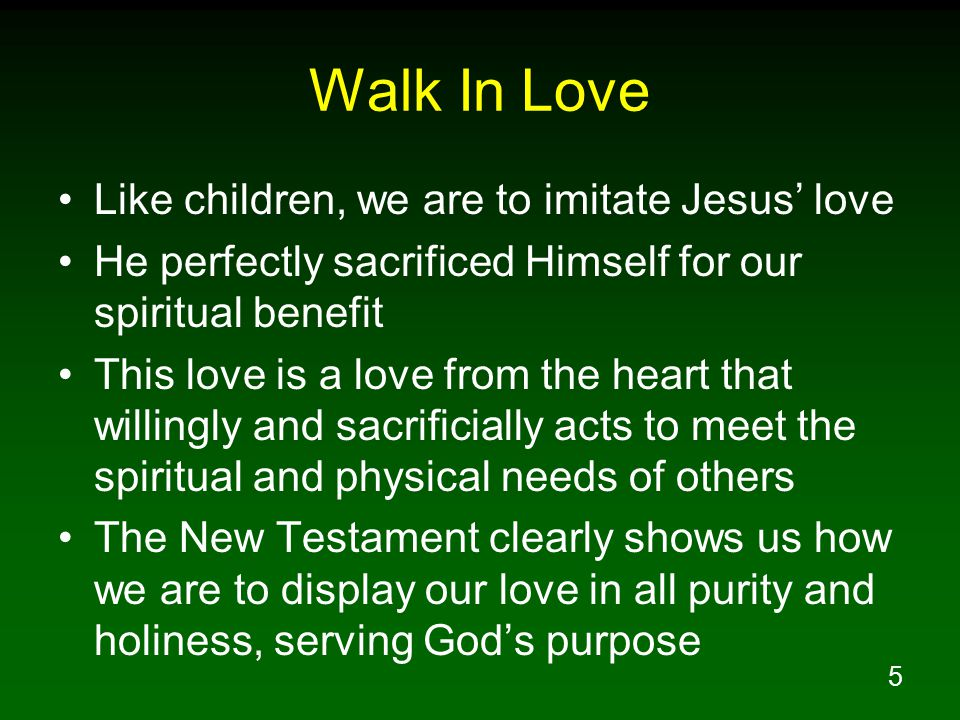 how to love others like jesus
