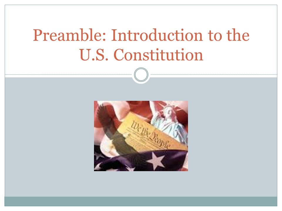 an introduction to the american constitution Mary sources: the constitution, statutes, and common law 1  introduction to  american legal system  when the law itself is based on a statute or  constitution.