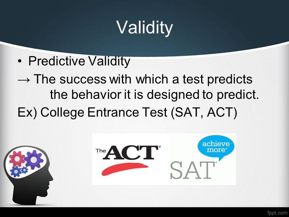 Test Validity Research Paper Starter
