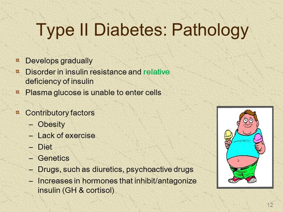 Type II Diabetes: Pathology