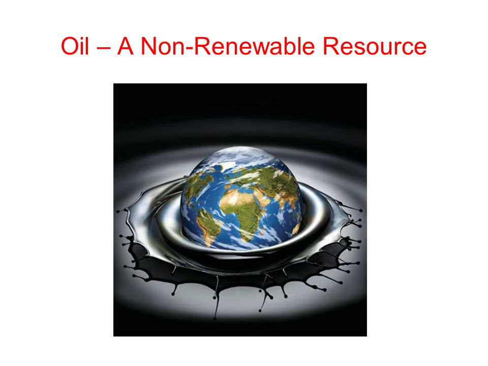 More Information on Non-Renewable Energy