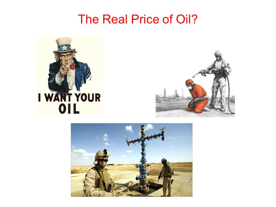 The Real Price of Oil