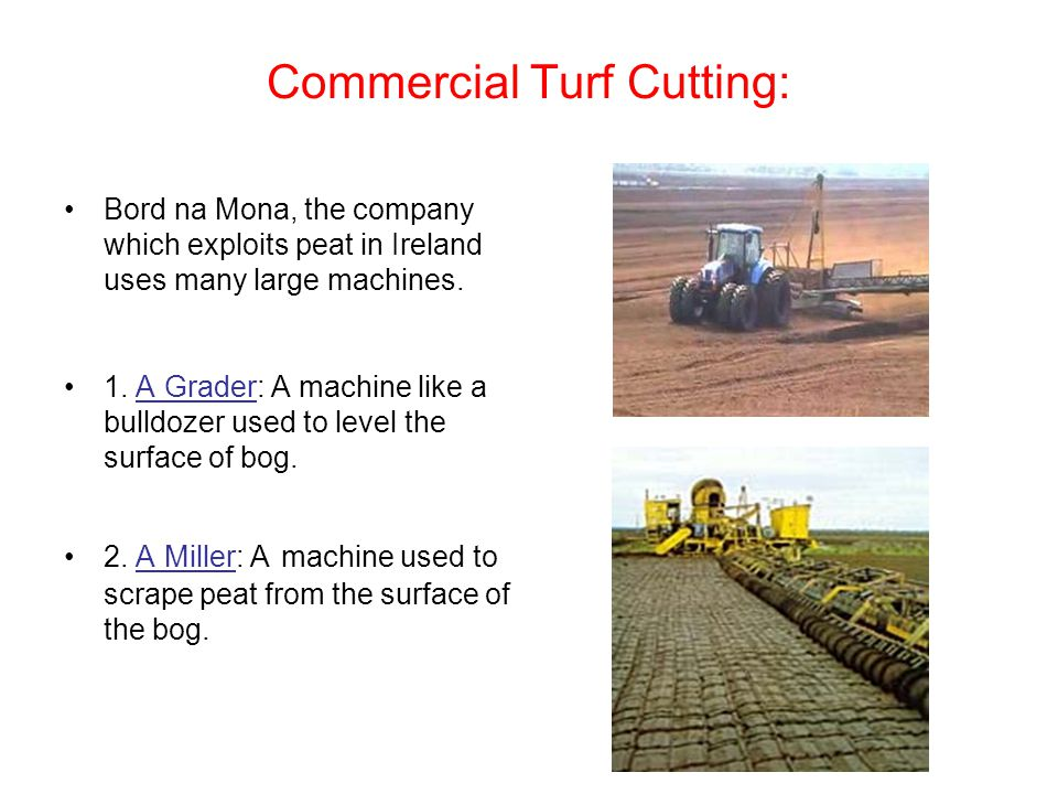 Commercial Turf Cutting: