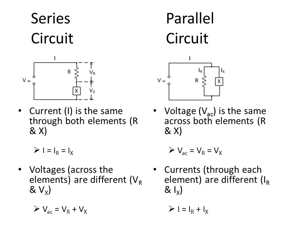 series and parallel circuit elements C analyze series-parallel circuits for current through and voltage across each  component d analyze the power dissipated by each element in a.
