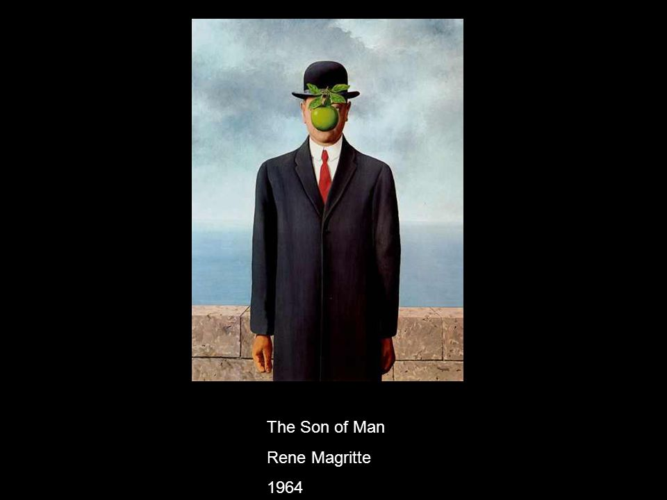 The Son of Man Rene Magritte 1964