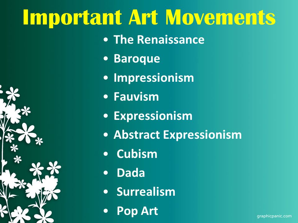 impressionism and renaissance art period 20102017  kids learn about art history educational articles for teachers, students, and schools including art movements, impressionism, realism, symbolism, abstract.