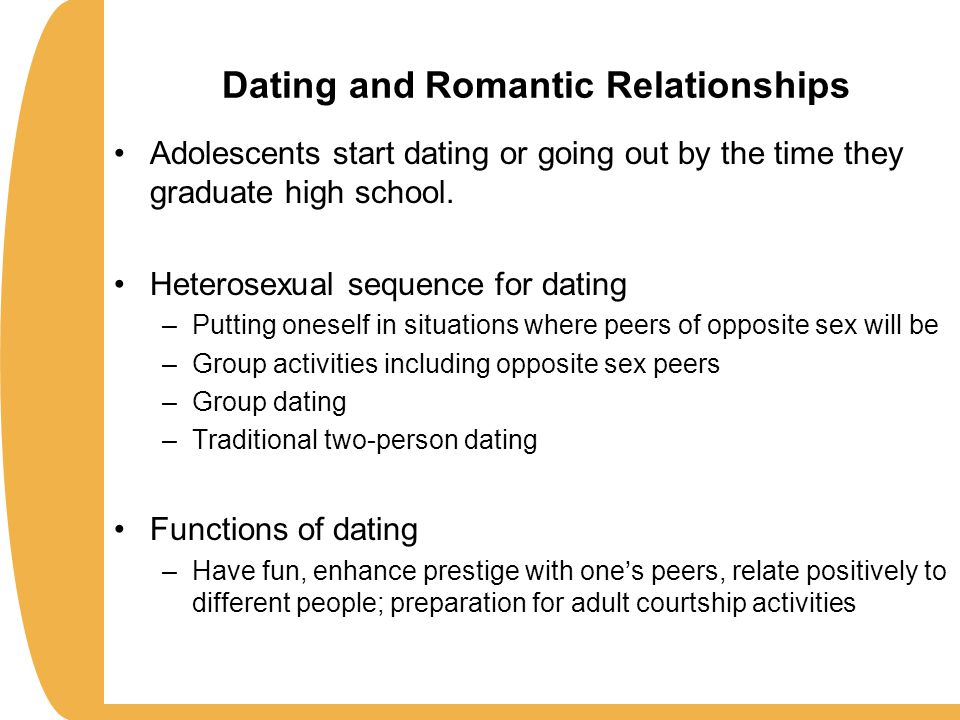 dating and romantic relationships in adolescence