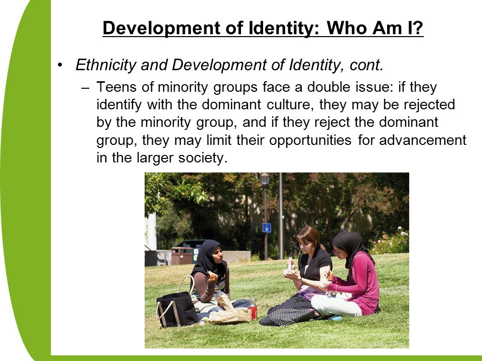 A discussion on teenagers issue of identity formation