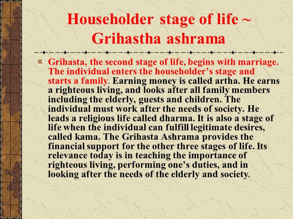 Householder stage of life ~ Grihastha ashrama
