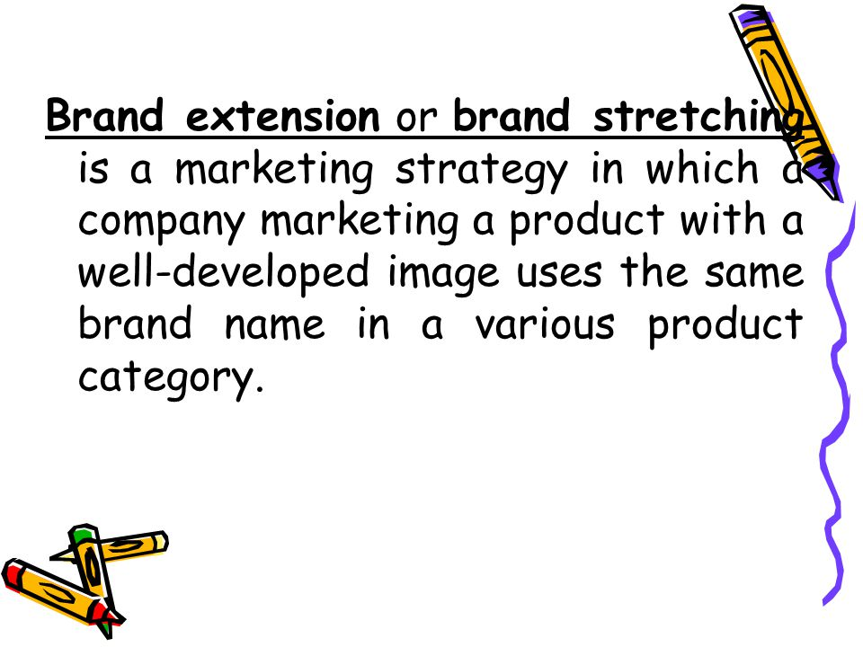 brand extension marketing plan essay Running head: brand extension marketing plan 10 executive summary the recipe modifier is lakelands most recent innovation that has great potential to generate revenue for lakeland, the home of creative kitchenware.