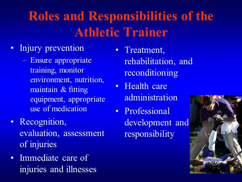 an evaluation of the duty of a physical trainer Of the secretary of the air force  67 supervisor, trainer, task certifier,  and establish a common training evaluation baseline.