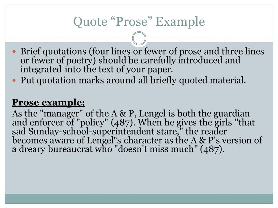 examples of prose writing Prose is ordinary language that follows regular grammatical conventions and does not contain a formal metrical structure this definition of prose is an example of prose writing, as is most human conversation, textbooks, lectures, novels, short st.