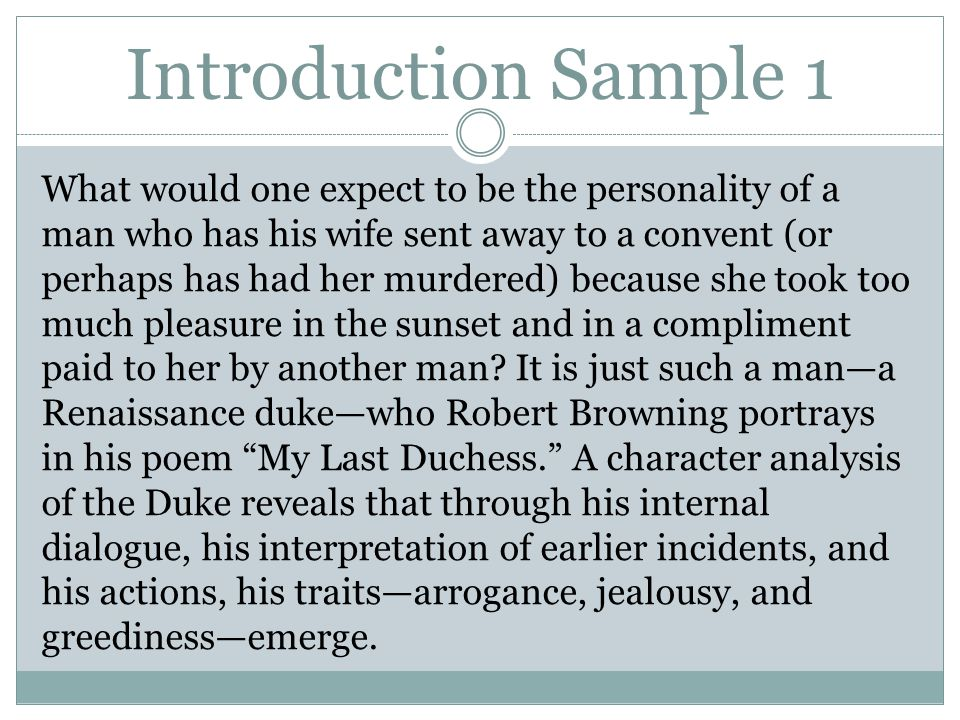 about his person analysis essay Character analysis of sammy in a&p topics: short story a&p character analysis of sammy essaya&p sammy, is the main character the story he.