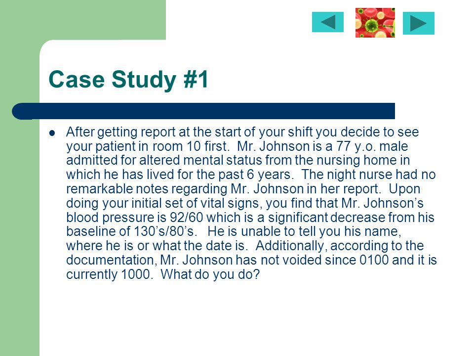 patho 1 case study 1 He also allows you to drop a case study and a quiz grade this came in handy when i was ill and unable to finish a case study in time i started last fall on a full-time plan.