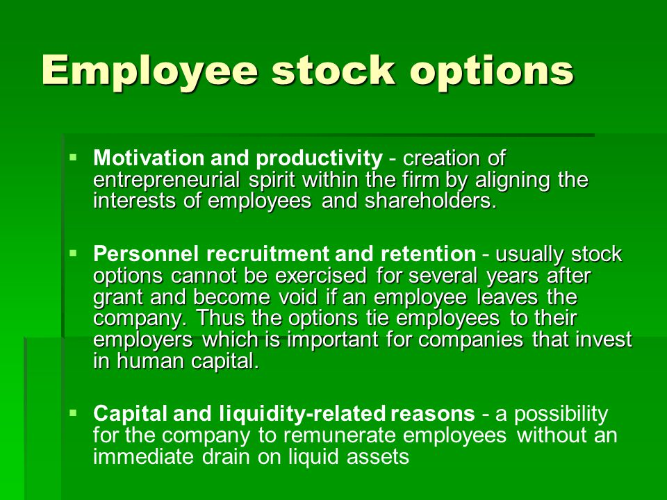 Stock options microsoft employees