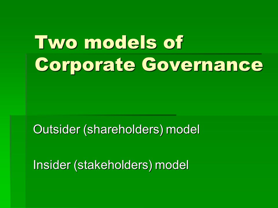 role of shareholders B separating the shareholder roles and director roles  there is often some  confusion about the respective roles of directors, shareholders, and management.