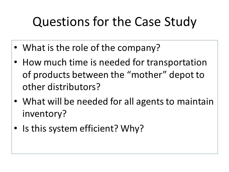 time management case study questions Teaching time management - a case study 1 case study – time management by sabrina baker, phr human resource consultant and recruiter fast facts.