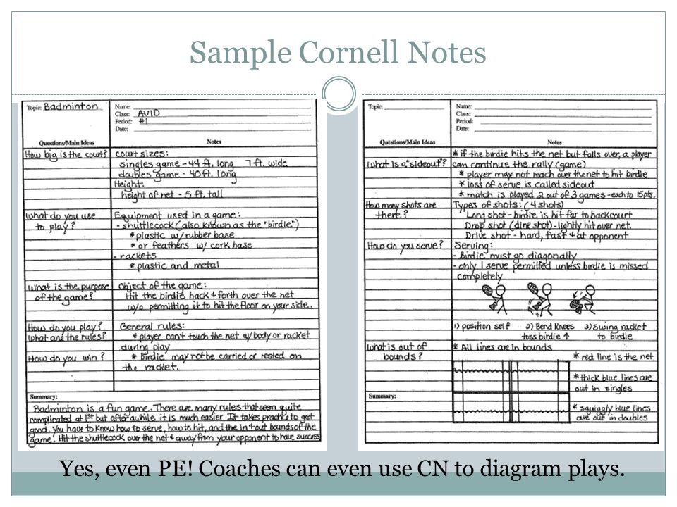 Structured NoteTaking For All Students  Ppt Video Online Download