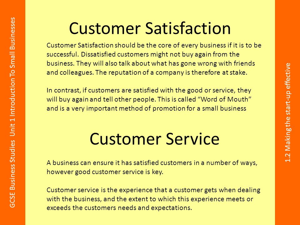 The customer service skills that matter