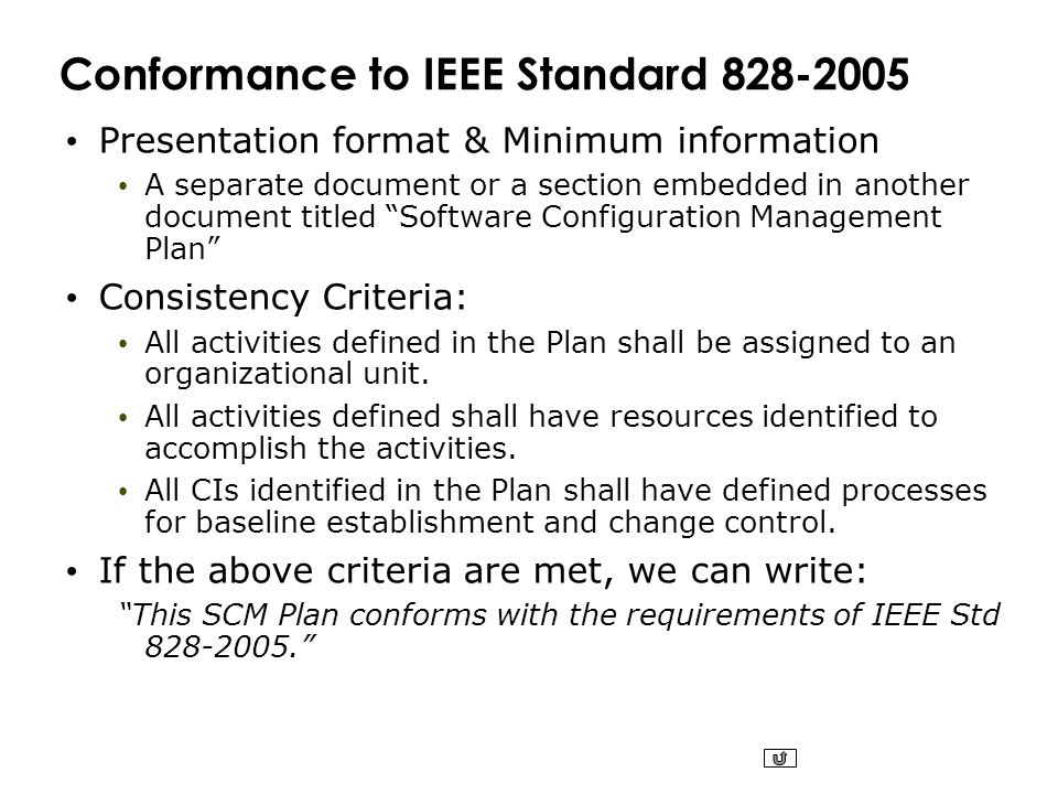 ieee standard for software configuration management plans pdf