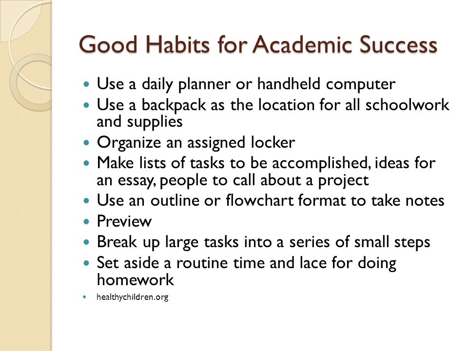 Essay on good habits for kids
