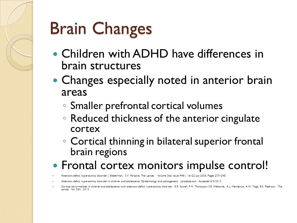 Adhd stephanie stockburger md faap assistant professor ppt brain changes children with adhd have differences in brain structures sciox Choice Image