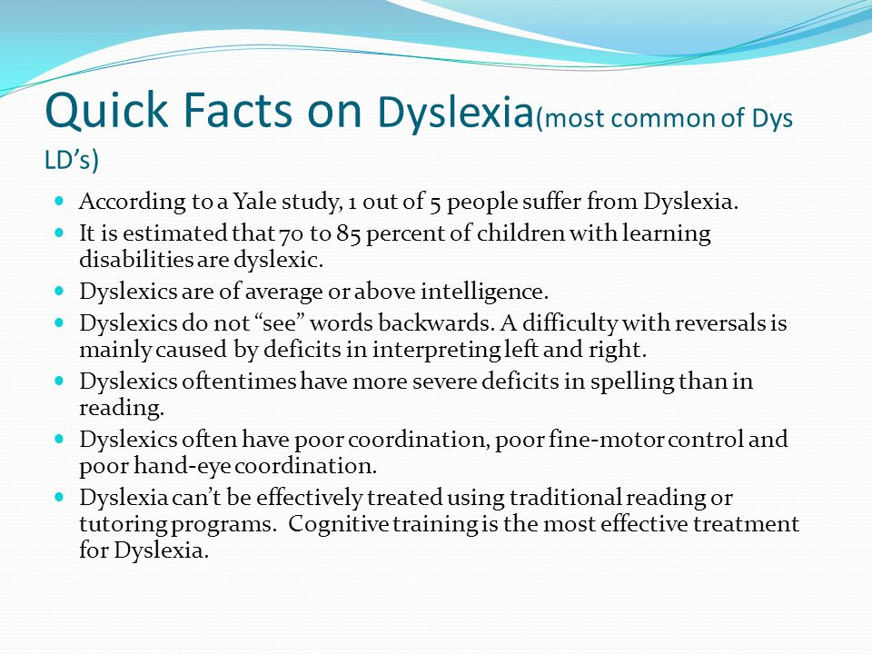 an analysis of the topic of the difficulty affecting dyslexic people Full-text paper (pdf): supporting dyslexic adults in higher education in bosnia and herzegovina.
