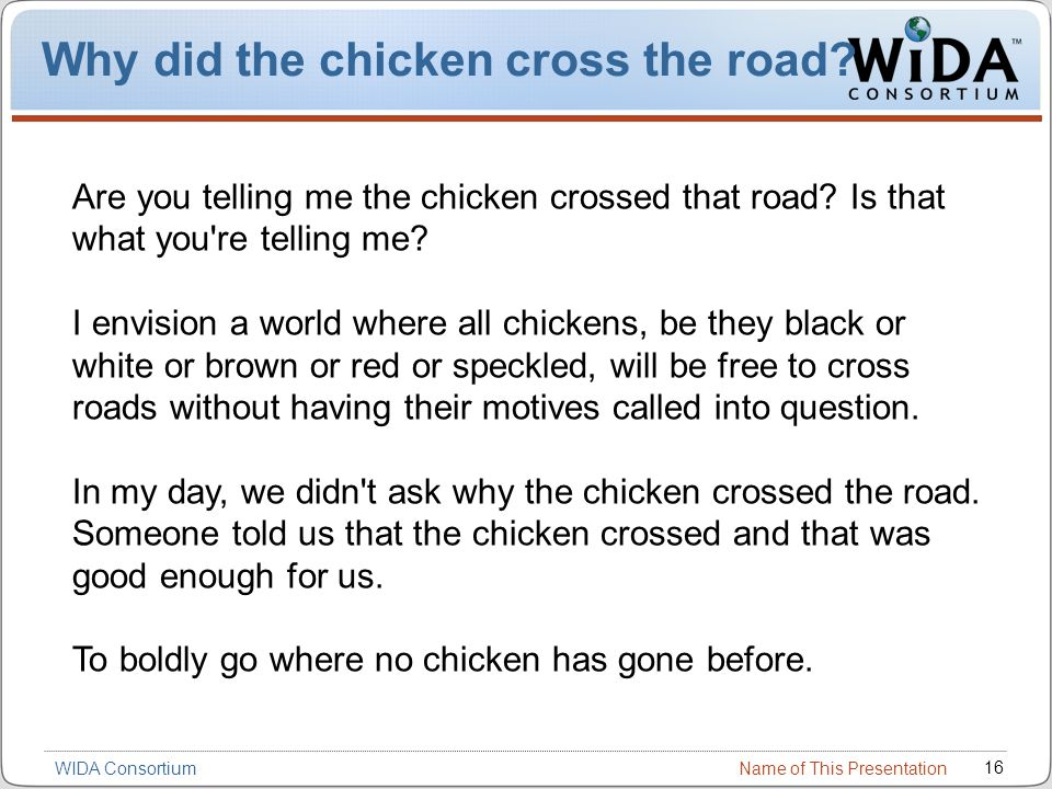 why did the chicken cross the road math worksheet - why did the ...