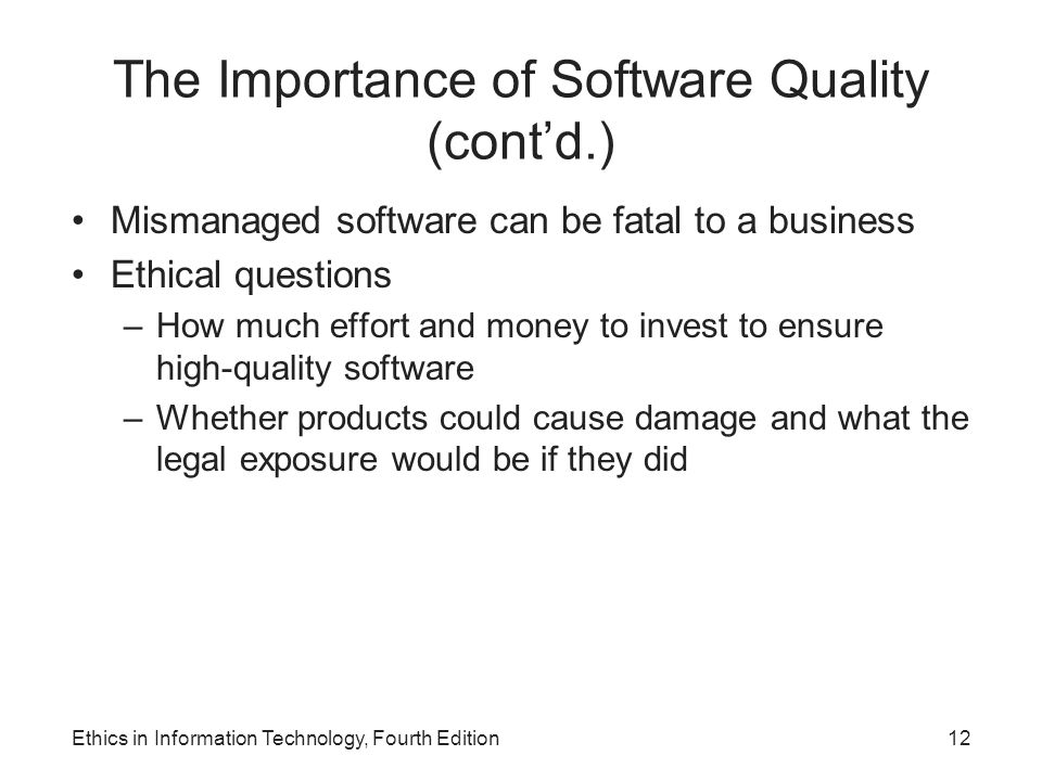 "the importance of software ""the importance of software process management for software quality, testing and industry development"" presented at the china's software quality, testing and industry."
