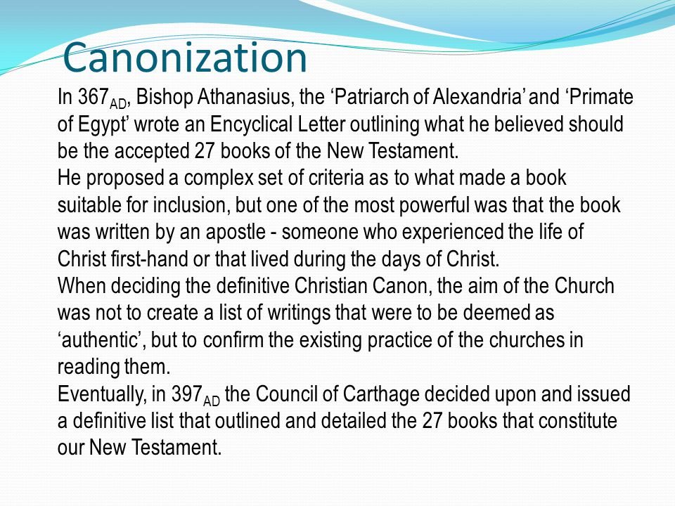 the canons of christianity essay What's the difference between christianity and judaism christianity and judaism are two abrahamic religions that have similar origins but have varying beliefs, practices, and teachings.