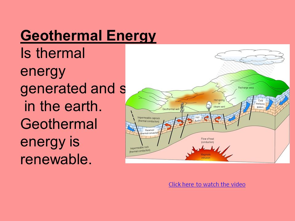 geothermal energy rare renewable energy Publication: consumer's guide to geothermal energy in montana geothermal energy is a clean, renewable, reliable and economic source of heat and energy.