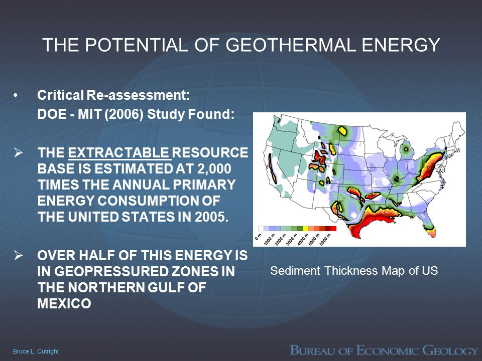 The Potential Of Geothermal Energy