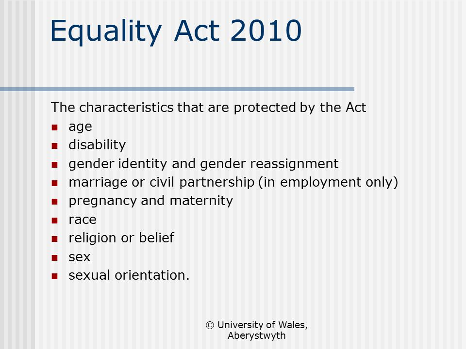 Act 1975 1986 and sex discrimination