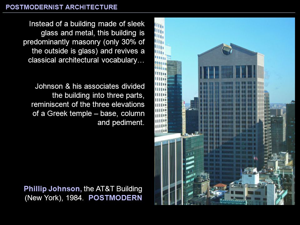 "Modern Architecture Vocabulary less is more."" ""less is a bore."" modernist architecture - ppt"