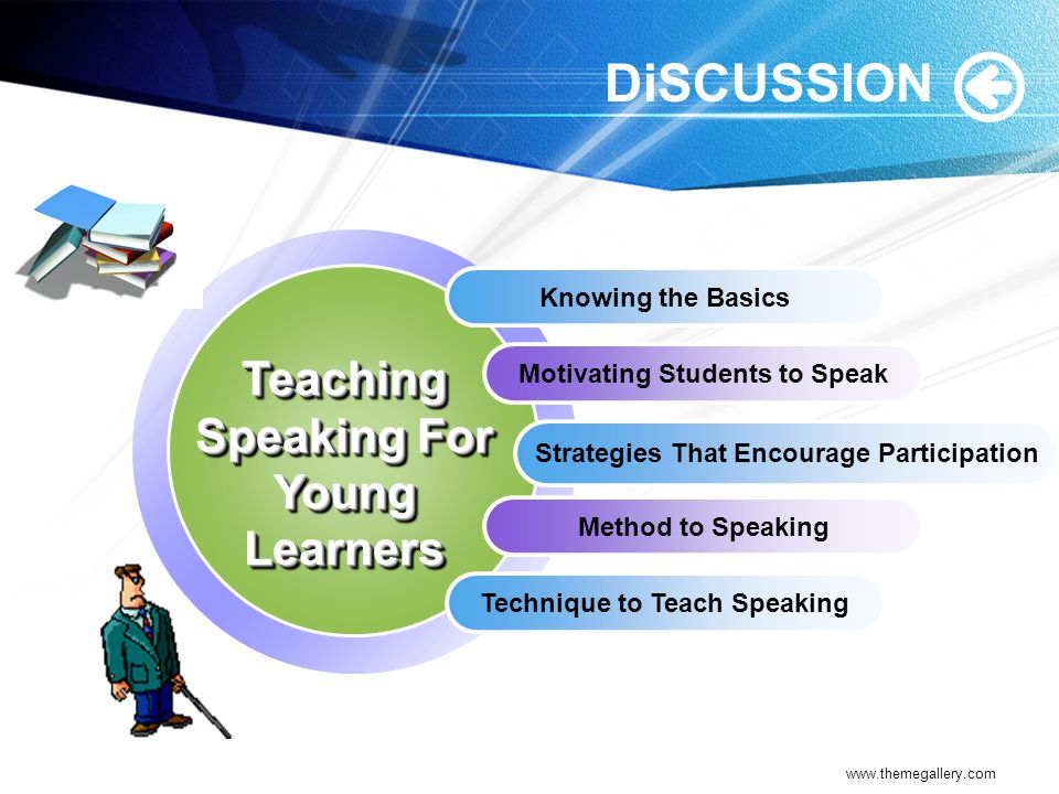 DiSCUSSION Teaching Speaking For Young Learners Knowing the Basics
