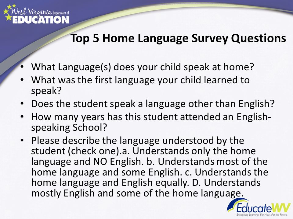 how to speak english with child at home pdf