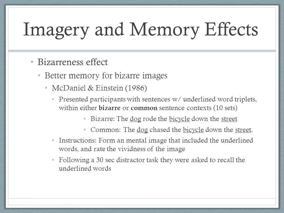 effects of the wording of a question on memory The effects of color on memory  lynnay huchendorf  faculty sponsor: melanie cary, department of psychology  it is logical to question whether arousal due to.