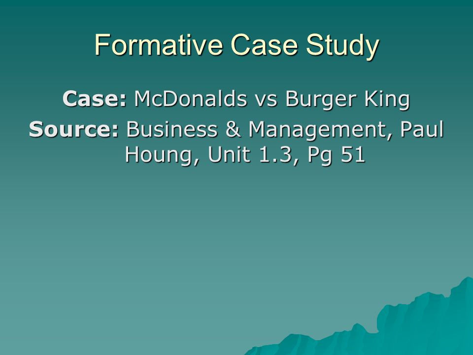 Business overview and market analysis of Burger King