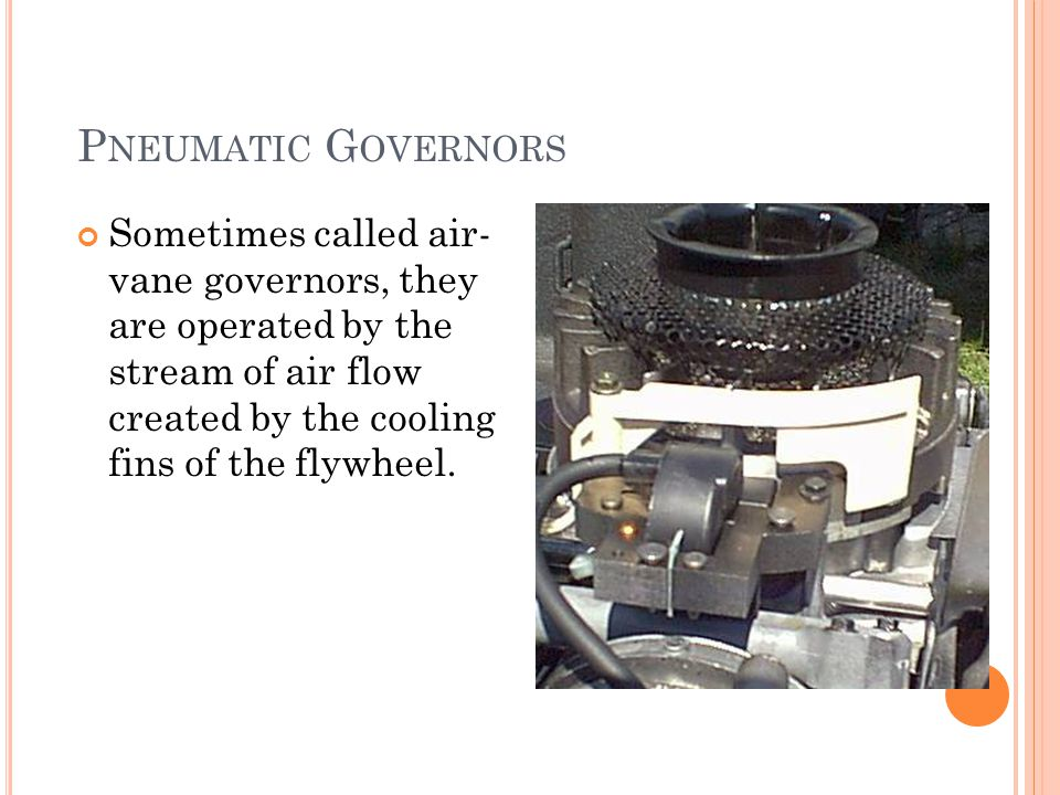 Pneumatic Governors