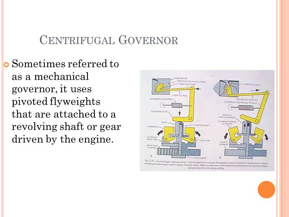 Centrifugal Governor