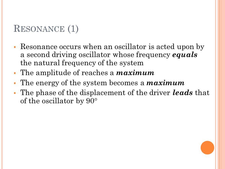 Resonance (1)