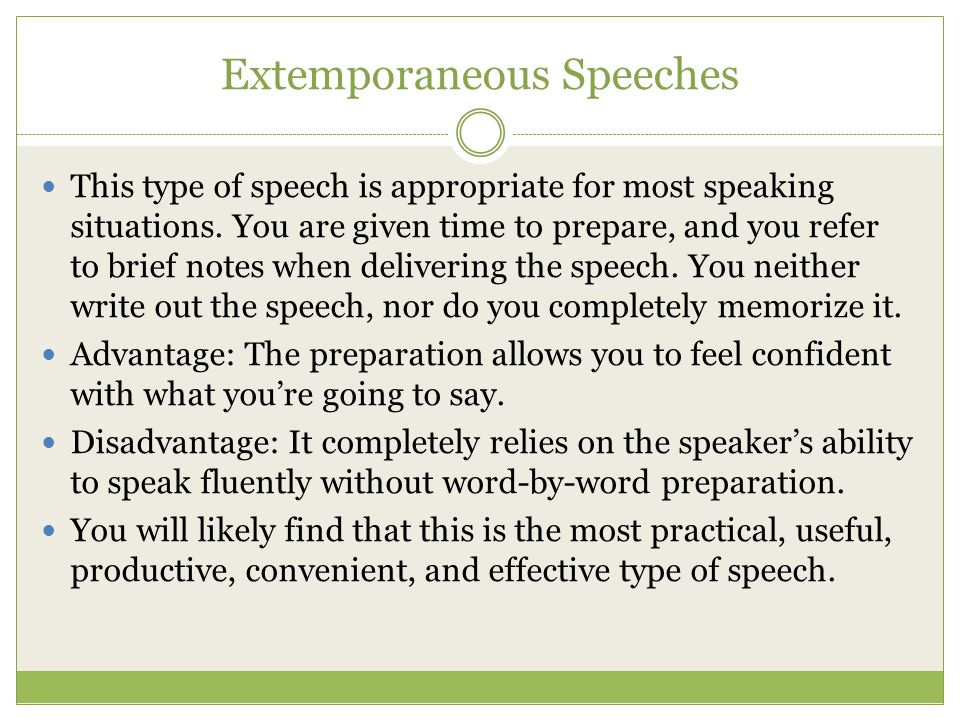 Introduction to Speech - ppt download