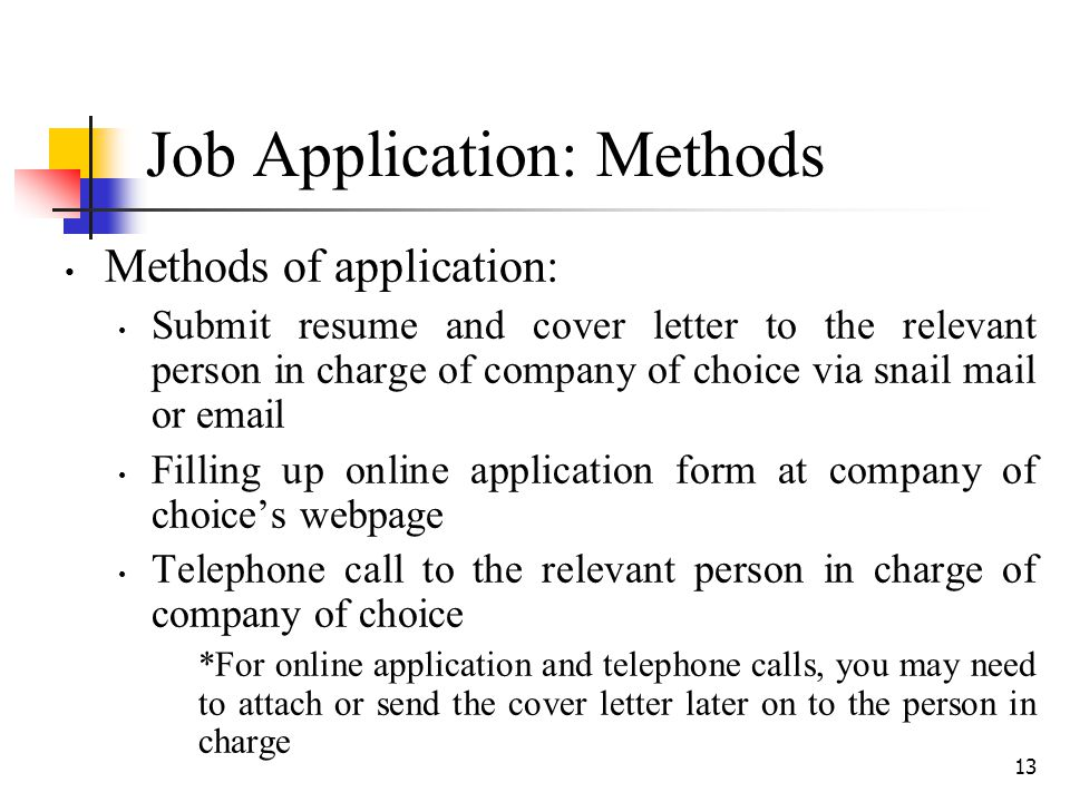 job application methods. Resume Example. Resume CV Cover Letter