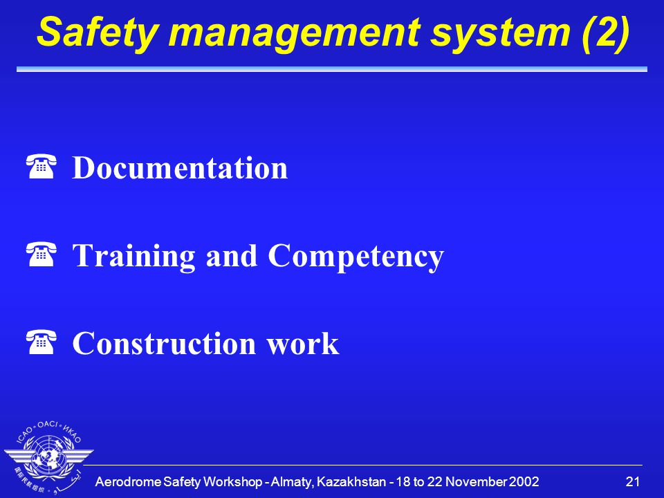 safety management basic Identify key offshore installation safety regulations and explain the basic concept of these regulations explain the principles of managing safety on offshore.