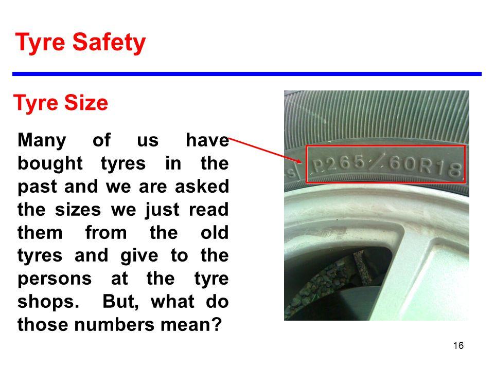 tire safety tyre safety ppt video online download. Black Bedroom Furniture Sets. Home Design Ideas