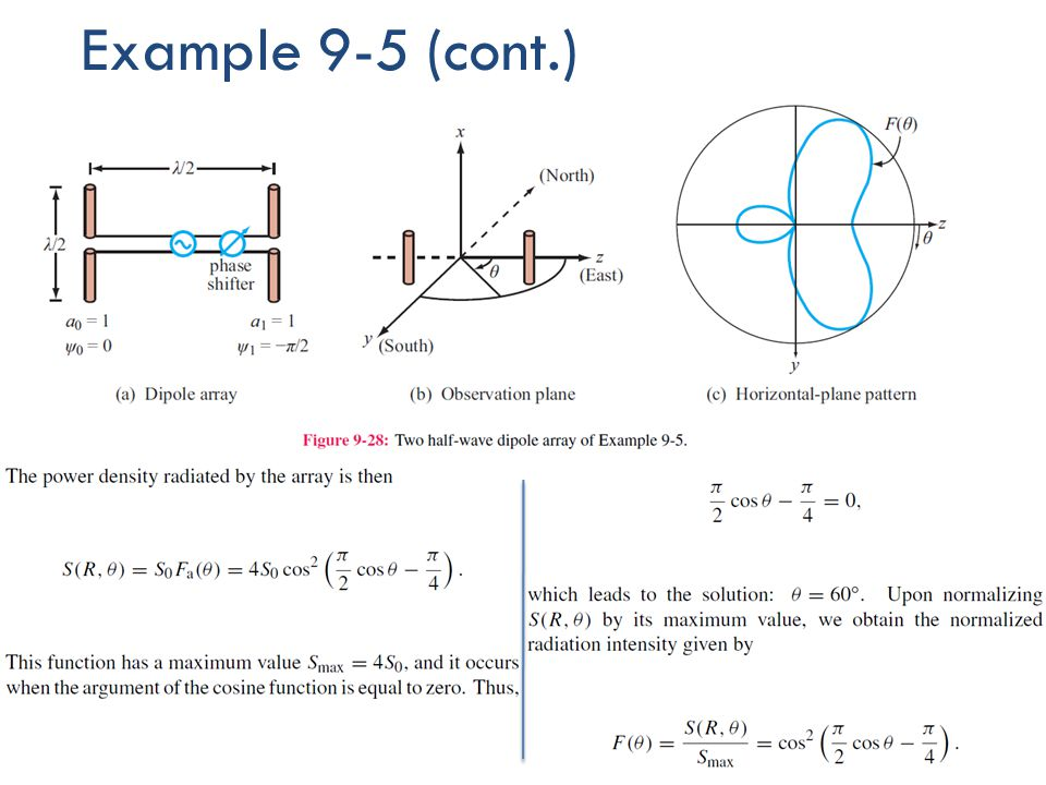 Example 9-5 (cont.)