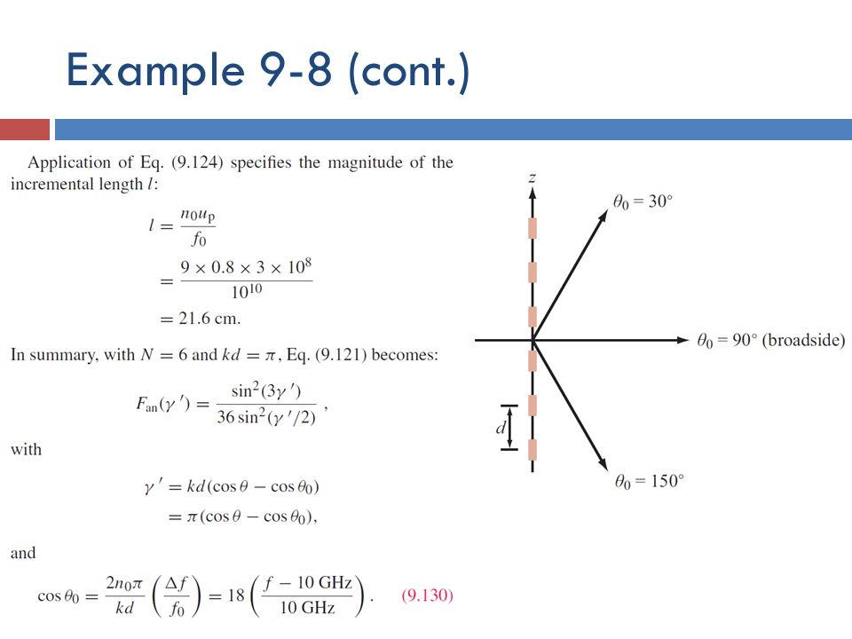 Example 9-8 (cont.)