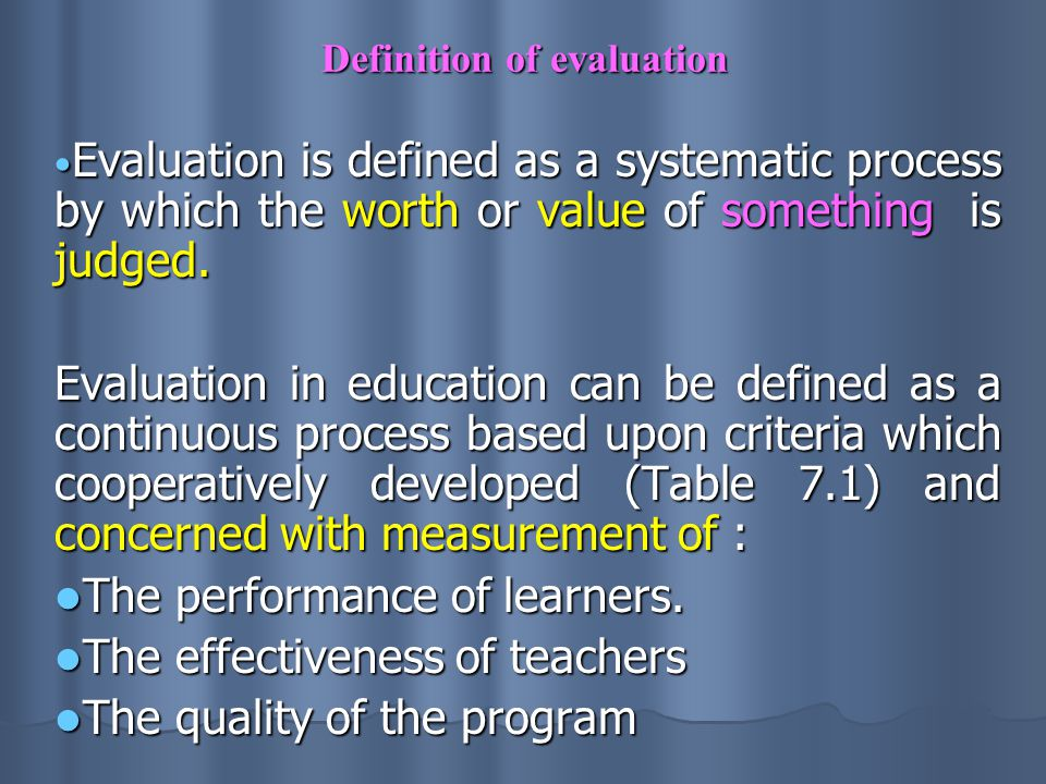 Measuring Learning Outcomes Evaluation  Ppt Download