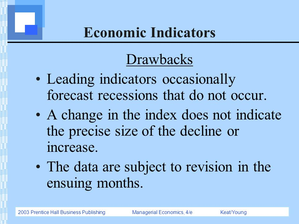 economics indicator forecast final project essay